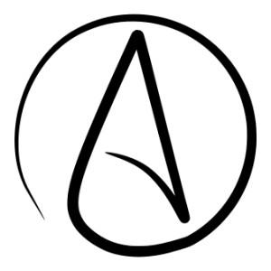 Logo de l'Atheist Alliance International, fondé en 2007