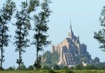 Une grève oblige la fermeture de l'abbaye du Mont-Saint-Michel en France