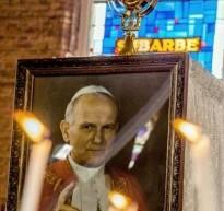 La ville de Waziers accueille une relique de Jean Paul II