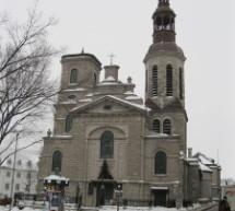 Dévoilement d'une plaque commémorative pour la Basilique-Cathédrale Notre-Dame de Québec