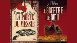 Les couvertures des ouvrages de Philip Le Roy et d'André Journo