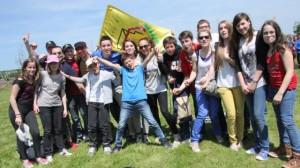 Des jeunes catholiques réunis à Saint-Malo autour du thème «Que la force de l'amour soit avec vous» | Photo : Stéphanie Bazylak