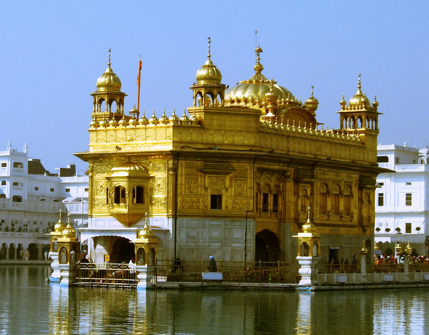 Le Temple d'or d'Amritsar