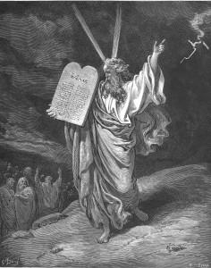Moïse et les tables de la Loi