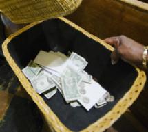 Campagne de financement :  «la bénédiction de Dieu ou argent remis»