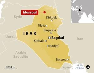 Mossoul carte