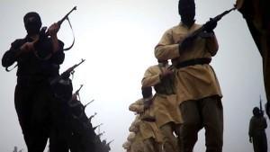 Image tirée d'une vidéo de propagande de l'Etat islamique en Irak et au Levant (EIIL) diffusée le 4 janvier 2014 | Photo : AFP
