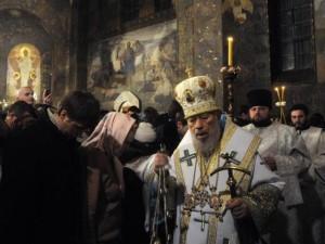 Volodymyr, chef de l'Église orthodoxe russe en Ukraine, est mort dans la nuit du 4 au 5 juillet 2014 | Photo : Keystone