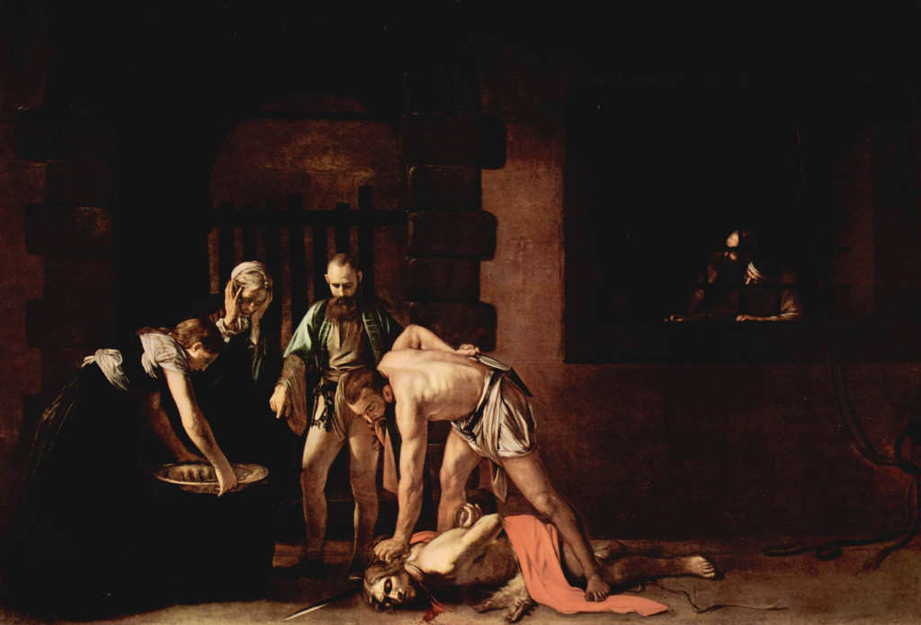La décollation de saint Jean-Baptiste | Le Caravage