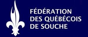 Logo de la Fédération des québécois de souche