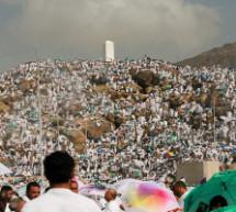 Mercredi 23 septembre – Islam : Station au mont Arafat