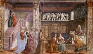 Nativité de la Bienheureuse Vierge Marie |Domenico Ghirlandaio