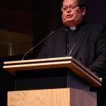 Mgr. Gérard C. Lacroix lors de l'avant-première médiatique du film 'François, apôtre de l'Amérique',  le 2 octobre 2014 | Photo : Steeve Bélanger (LMD)