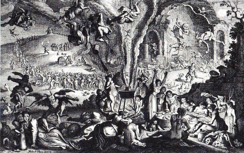 Sabbat de sorcière sur le mont de Brocken | Michael Herr