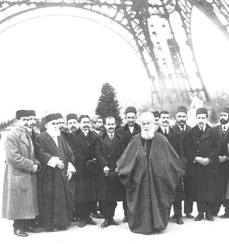 Abdu'l-Bahá à Paris