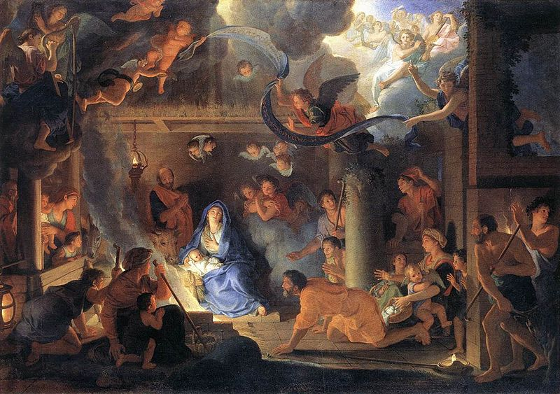 The Adoration of the Shepherds / Charles Le Brun