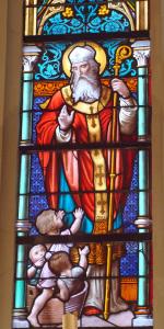 St Nicolas et les enfants