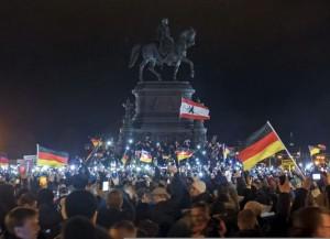 Allemagne - manifs du lundi