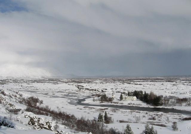 Þingvellir : littéralement, la plaine de l'assemblée, lieu du premier parlement islandais | Photo : Marie-Hélène Dubé