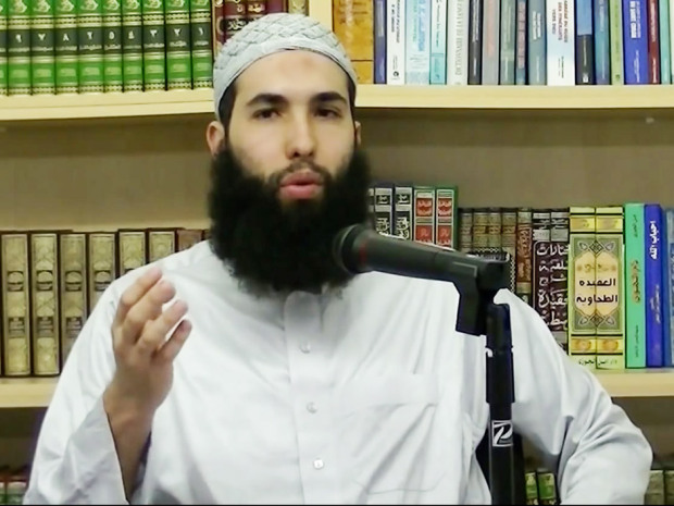 L'imam Hamza Chaoui | Photo : via Youtube