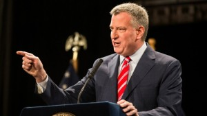 Le maire de New York, Bill de Blasio| Photo : Andrew Burton (AFP)