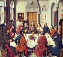 Christianisme : Jeudi saint
