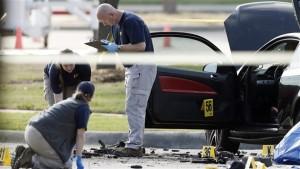 Le FBI enquête sur la scène de crime. | Photo :  Brandon Wade (PC)