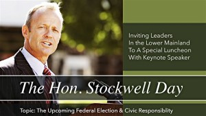 4MyCanada Stockwell Day