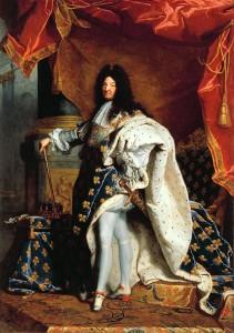 Peinture de Louis XIV par Hyacinthe Rigaud (1701)