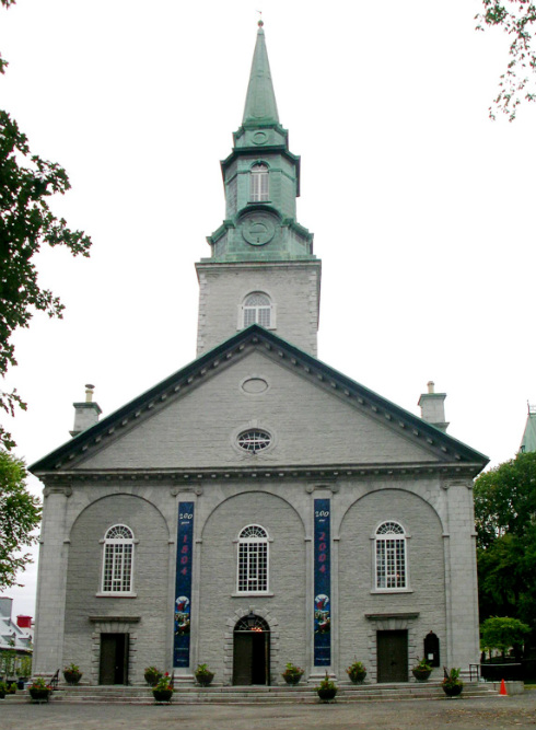 La cathédrale anglicane Holy Trinity de Québec a été construite de 1800 à 1804 dans un style néoclassique | Photo : Conseil du patrimoine religieux du Québec (2003)