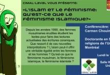 Compte-rendu de la conférence «L'islam et le féminisme. Qu'est-ce que le féminisme islamique?»