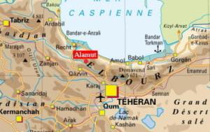 La forteresse d'Alamut est situé dans l'Iran actuel | Photo : via les-crises.fr