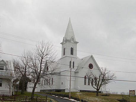 Église Roussy Memorial | Photo : Conseil du patrimoine religieux du Québec