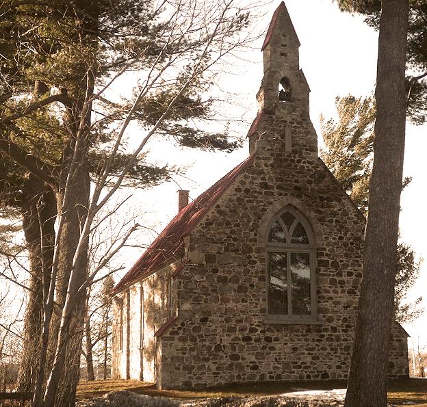 Église anglicane du Messie, située à Sainte-Anne-de-Sabrevois | Photo : Louis-Philippe Rousselle-Brosseau (licence Creative Commons BY-SA)
