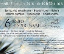 Événement : 6 heures de spiritualité