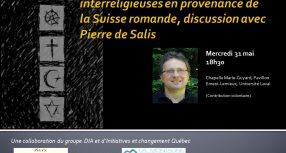 Évènement: conférence-dialogue avec Pierre de Salis