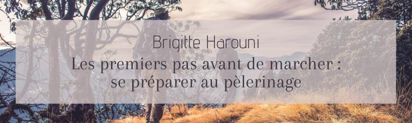 Visuel - Brigitte Harouni - Se préparer au pèlerinage